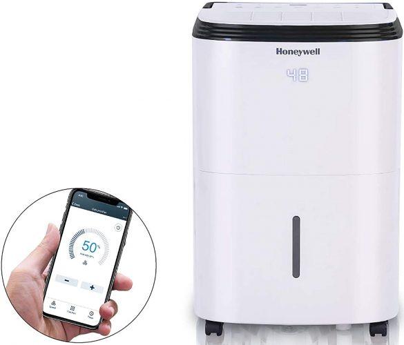 Honeywell TP70AWKN 4000 Sq. Ft Smart Wi-Fi Energy Star Dehumidifier
